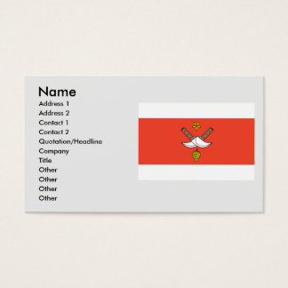 Chrlice, Czech Business Card