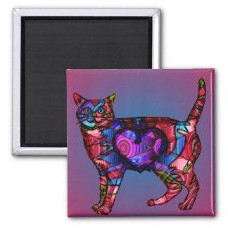 Chroma Calico Glow Magnet