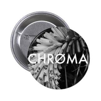 Chroma Creative Floral Circle Badge Pinback Button