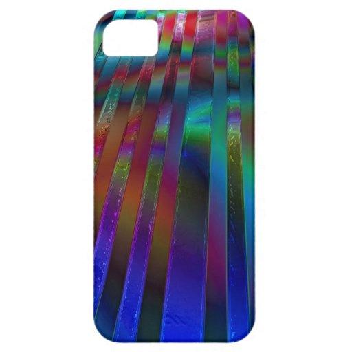 Chroma Rays iPhone 5 Case