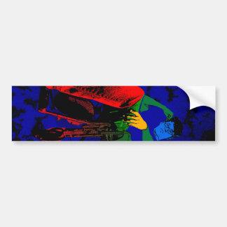 ChromaDepth 3D Photography Bumper Sticker