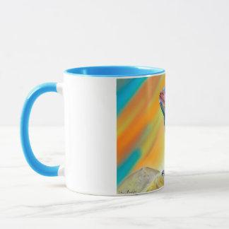 Chromatic Bearded Dragon Digital Paint Mug