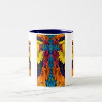 Chromatic Bouquet Cross Mug