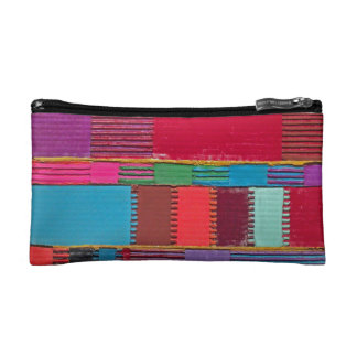 Chromatic Quilt Cosmetic Bag