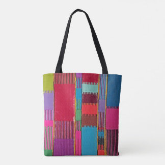 Chromatic Quilt Tote Bag