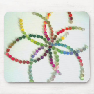 chromatic timelines colourful tapestries mouse pad