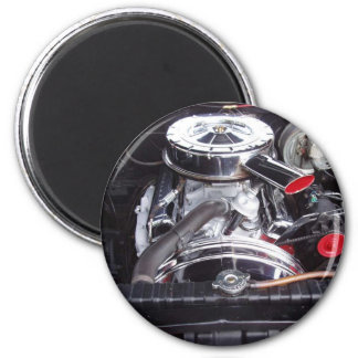 chrome 1960 impala engine magnet