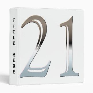 Chrome 21 binder