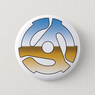 Chrome 45 RPM Pinback Button