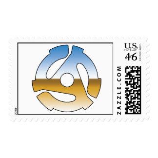Chrome 45 RPM Postage