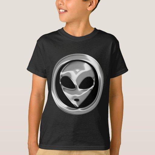 CHROME ALIEN HEAD T-Shirt