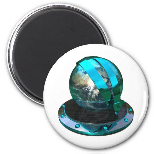 Chrome And Petrol Blue Icons Downloader Magnets