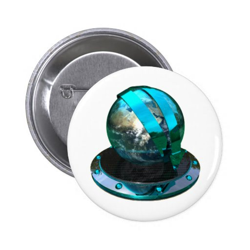 Chrome And Petrol Blue Icons Downloader Pin