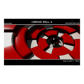 Chrome Ball 2 Poster