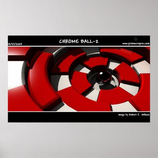 Chrome Ball 2 Poster
