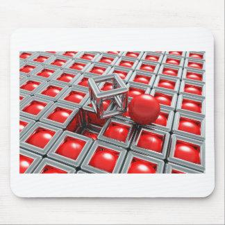 chrome balls mouse pad