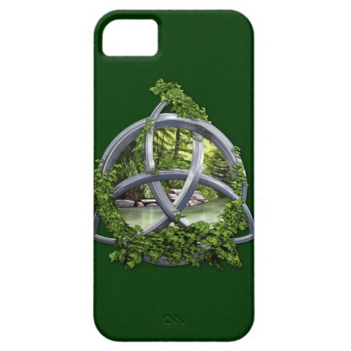Chrome Celtic Trinity Knot iPhone SE/5/5s Case