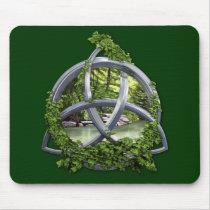 Chrome Celtic Trinity Knot
