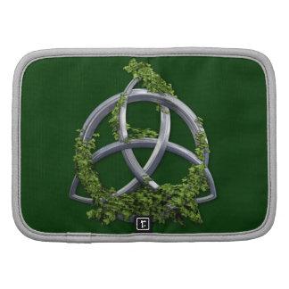 Chrome Celtic Trinity Knot Organizers
