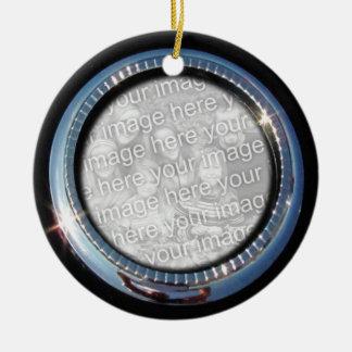 Chrome Circle template ~ ornament