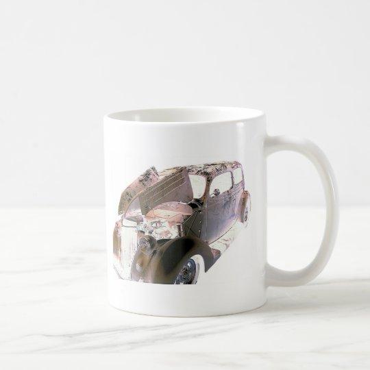 chrome coffee mug
