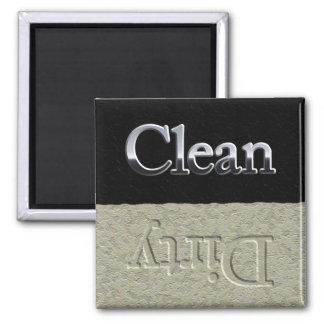 Chrome/Crud dishwasher magnet