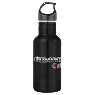 Chrome Cult On The Pole Stainless Steel Water Bottle