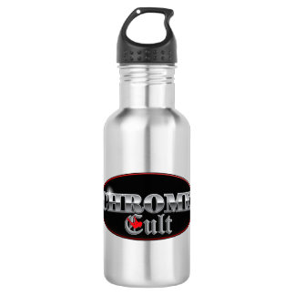 Chrome Cult Pole Excitement Stainless Steel Water Bottle