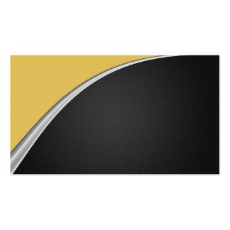 Chrome Curve Business Card