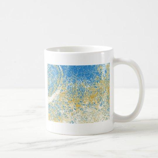 chrome elephant reversed coffee mug