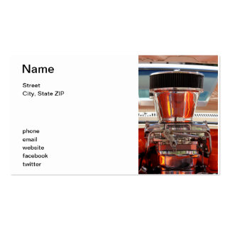 Chrome Engine Business Card