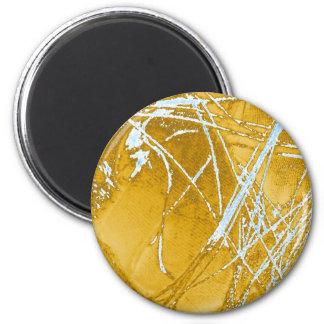 chrome fabric magnet