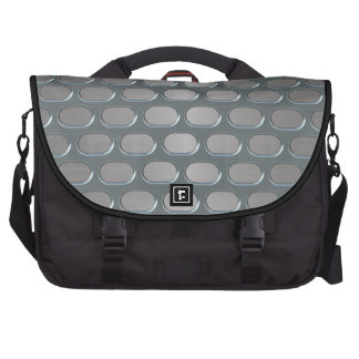 Chrome Grille Over Stainless Look Commuter Bags
