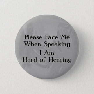 Chrome Hard of Hearing Button