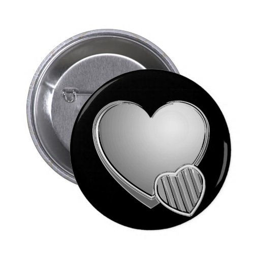Chrome Hearts Pinback Buttons