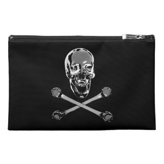 Chrome Jolly Roger Travel Accessories Bags