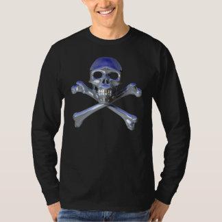 Chrome Jolly Roger T-Shirt
