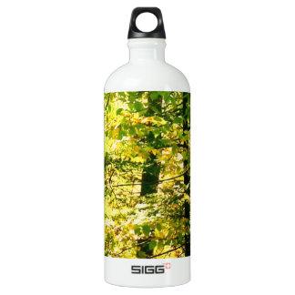 Chrome Leaves Aluminum Water Bottle