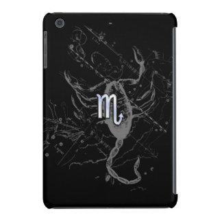 Chrome like Scorpio Zodiac Sign on Hevelius 1690 iPad Mini Cases