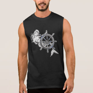 Chrome Mermaid Sleeveless Shirt