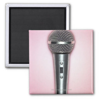 Chrome Microphone Magnet
