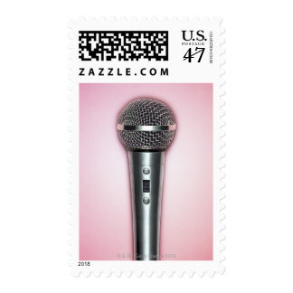 Chrome Microphone Postage