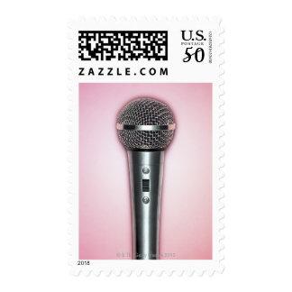 Chrome Microphone Postage