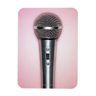 Chrome Microphone Magnets