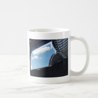Chrome Classic White Coffee Mug