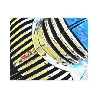 Chrome on the Chevy Canvas Print