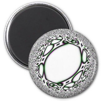 """""""Chrome""""osome 2 Inch Round Magnet"""