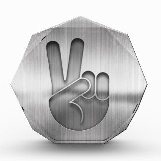 Chrome Peace Hand Award