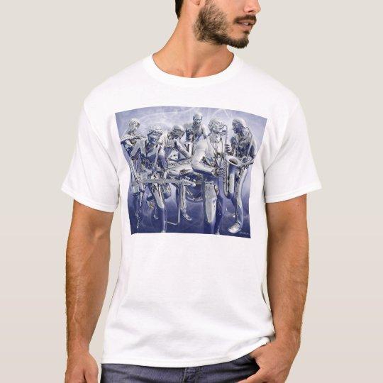 Chrome Plated Music T-Shirt