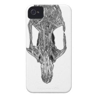 Chrome Rat Skull Case-Mate iPhone 4 Case